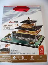 3D Puzzle Kinkakuji Tempel Japan Cubic Fun Kinkaku-ji Kyoto Pavillon Palast Gold