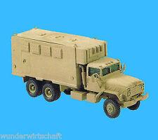 Roco Minitanks H0 485 M934 KOMMANDO-FAHRZEUG Van US Army Desert Neu OVP HO 1:87