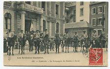 Cauterets - La Compagnie des Guides à Cheval. 1908