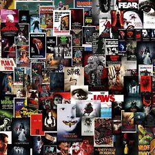 Horror Scary Movie Sticker Bomb sheet Euro Vinyl Decal Vw Jdm Dub wrap Jaws Fear