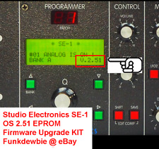 Studio Electronics Se-1 Os 2.51 Eprom Firmware Upgrade Kit / New Rom Update Chip