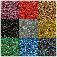 GLASS SEED BEADS 11/0- 2mm