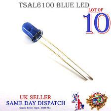 10x 940nm Infrared LED Lamp Blue 5mm IR High Power Emitter TSAL6100