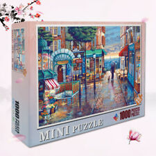 1000 Pieces For Adults And Kids Difficult MINI Jigsaw Puzzles - Romantic Town