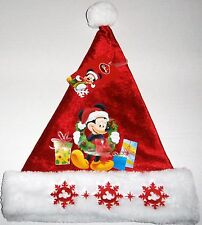 MICKEY MOUSE SANTA HAT Mickey with Christmas Gifts