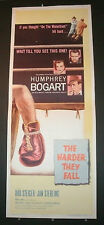 THE HARDER THEY FALL - HUMPHREY BORGART BOXING ORIGINAL 1956 RELEASE
