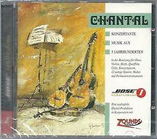 Chantal Konzertante Musik Aus 5 Jahrhunderten 24 Karat Bose Zounds Gold CD Neu O