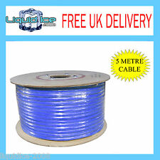5 METRE 15A BLUE 12V 2MM STRAND REMOTE CAR VEHICLE POWER CABLE WIRING