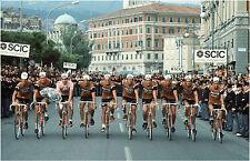 TEAM MOLTENI GIRO D'ITALIA 1973 WINNING TEAM CELEBRATION POSTER EDDY MERCKX