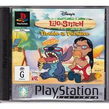 PLAYSTATION 1 DISNEY'S LILO AND STICH PLATINUM PS1 PAL DISNEY