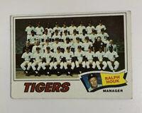 1977 Detroit Tigers Team # 621 Topps Baseball Card