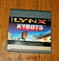 "ATARI LYNX GAME "" XYBOTS "" CLEANED AND POLISHED CONTACTS"