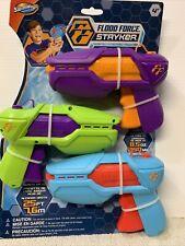 New ListingWater Guns Shooter - Flood Force Stryker 3 Pack - Blasting Power Grips Trigger