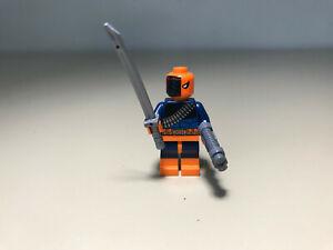 Lego Deathstroke Batman minifigure 76034 Super Heroes