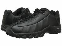 Men K-Swiss ST329 CMF Training 03426-008 Black Leather 100% Authentic Brand New