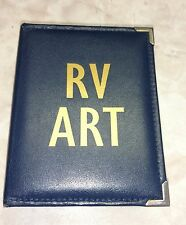 RV Art 100 Page Photo Album Portfolio Pinstriping Motorhome Airbrush Murals-Gift