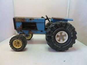 Tonka Farm Tractor Truck - Pressed Steel - Big Blue