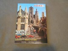 Old Vintage Souvenir Travel Booklet Gent Ghent Belgium Foto Photo Guide ca 1980s