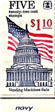 #BK144 'Flag Over Capitol' with scarce NAVY cover