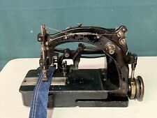"Vintage Union Special Twin Needle Chain Stitch, Denim Sewing Machine 1/4"" Gauge"