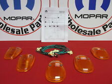 DODGE RAM Amber Roof-Mounted Running Lights NEW OEM MOPAR