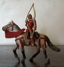 SCHLEICH cavalieri del giglio, Arciere a cavallo, soldatino  medioevale figura