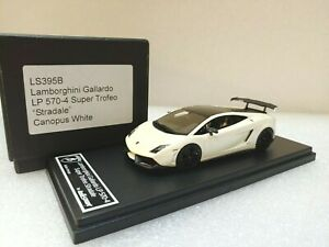 Lamborghini Gallardo LP560-4 Super Trofeo Stradale White Looksmart 1/43 #LS395B