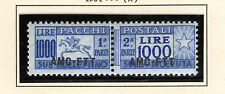 italy trieste parcel post STAMPS mnh Q26 very rare beautiful key value!!