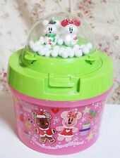 TOKYO DISNEYLAND Christmas 2013 POPCORN BUCKET  MICKY MOUSE MINNIE mouse X'mas