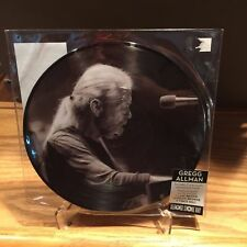 "Gregg Allman Whipping Post 10"" Picture Disc RSD 2015 Zac Brown Jackson Browne"