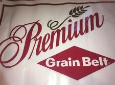 3x6' Nice Unused Grain Belt premium Beer Vinyl Banner Minnesota Advertising Sign