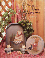 Bless Your Hearts Vol. 2 By Dianna Marcum Holiday Christmas Tole Painting Book.