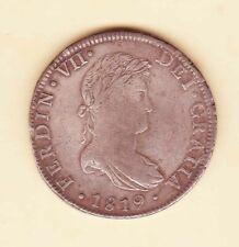 1819 Mo JJ 8 Reales Fernando VII Spanish Colonial SILVER DOLLAR coin