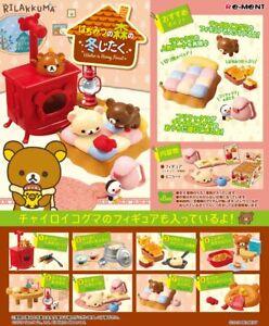 Re-Ment Sanrio Rilakkuma Bear Winter in Honey forest rement Miniature Full set
