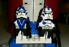 Lego Star Wars Echo & Fives ARC Troopers Phase II Gear 501st Custom Clone Figure