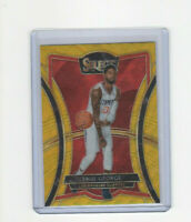 2019/20 Panini Select Premier Level Gold Wave Prizm Paul George Parallel Card