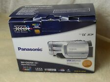Panasonic GS250 3CCD Leica Dicomar Mini DV HD Video Camcorder BUNDLE mint