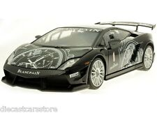 MOTORMAX LAMBORGHINI GALLARDO LP560-4 SUPER TROFEO BLACK 1/18 MODEL CAR  79153