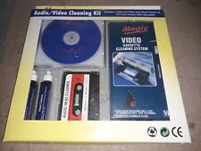 Audio / Video Cleaning KIt (Magic CDC-388) VHS cleaner