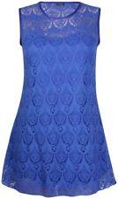 Maglie e camicie da donna Blu Aderente Taglia 46