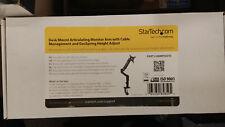 StarTech ARMPIVOTE Desk Mount Articulating Monitor Arm