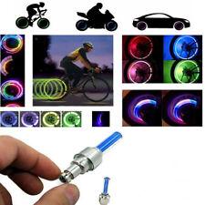Moto Valvole Luce Copri Bicicletta LED Auto Ruota Bike Bici Luce Car sy