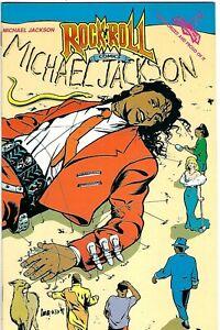 "Rock N'  Roll Comics #36 (1991) VF 1st Print  ""Michael Jackson""  Sanford"