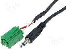 RENAULT Aggiorna elenco 2005-2012 AUX in input cavo adattatore per iPod MP3 3,5 mm Jack