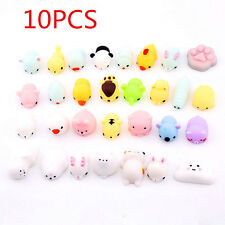 10X Cute Animal Squishy Healing Squeeze Fun Kid Toy Gift Stress Reliever Decor S