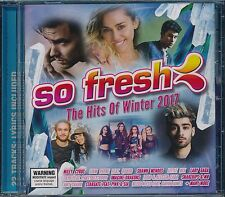 So Fresh His Of Winter 2017 CD NEW Lorde Miley Cyrus Lady Gaga ZAYN HAIM