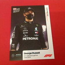 2020 Formula 1 F1 Topps Now card #19 GEORGE RUSSELL Mercedes 1st Points