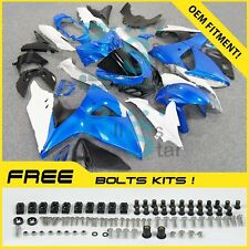 Blue White GSXR1000 Fairing Fit Suzuki GSX-R1000 2010 2011 12 13 2009-2016 01 A3