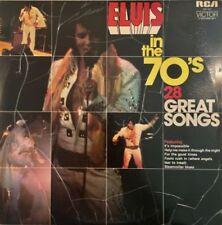 Elvis Presley Excellent (EX) Grading 33 RPM Speed Vinyl Records