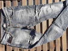 Jean Slim Fit  Gr.W27/L32 Maße beachten distressed